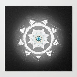 Anasazi Star Sun Mandala Canvas Print