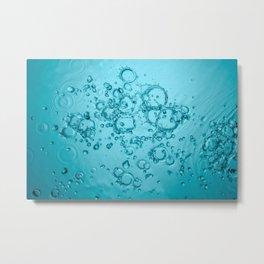 Water Background Metal Print