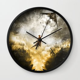 A Place to Stay Wall Clock
