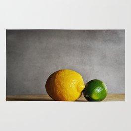 Lemon and Lime Rug