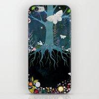 velvet underground iPhone & iPod Skins featuring Underground by Danse de Lune