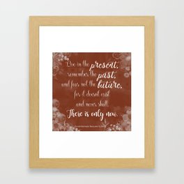 Inheritance Cycle - Eldest quote Framed Art Print