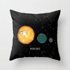 Moonzoned Throw Pillow
