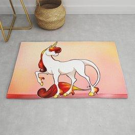 .: Ruby Unicorn :. Rug