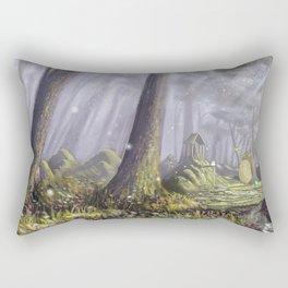 Totoro's Forest Rectangular Pillow