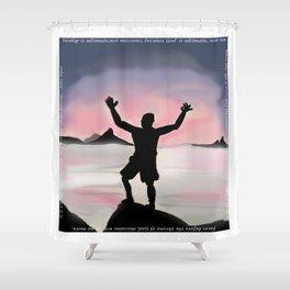 Worship Shower Curtain