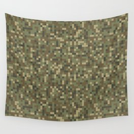 Modern military camouflage pattern 6 Wall Tapestry