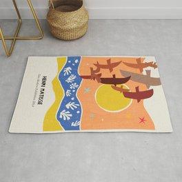 Henri Matisse Dove Rug