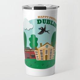 Happy Prince's Dublin Travel Mug