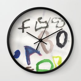 Letters for CORM Wall Clock