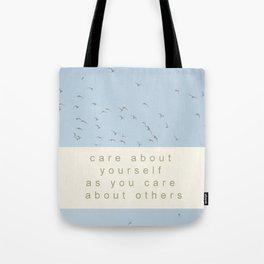 Life Lesson - Seagull Style Tote Bag