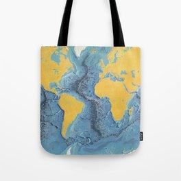 World Ocean Floor Panorama from MARIE'S OCEAN Tote Bag