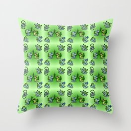 Bulba Buddies Throw Pillow