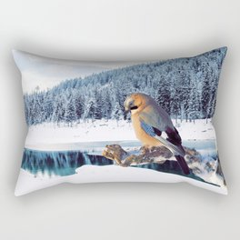 Winter Moments Rectangular Pillow
