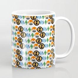 Crypto Pattern Coffee Mug