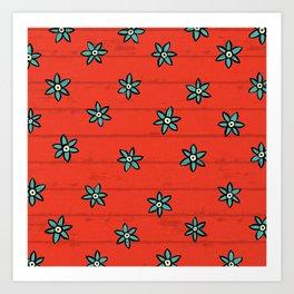 zuhur fire Art Print