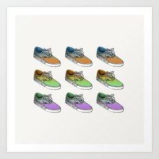 Sneakers II Art Print
