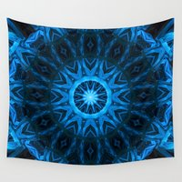dream catcher Wall Tapestries featuring Dream Catcher by Deborah Janke