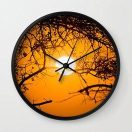 Forest Sunrise Wall Clock