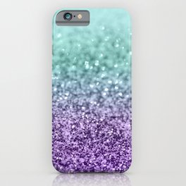 Mermaid Girls Glitter #9 #shiny #decor #art #society6 iPhone Case
