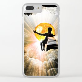 Bringer Of Light Clear iPhone Case