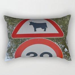 Bull speedlimit Rectangular Pillow