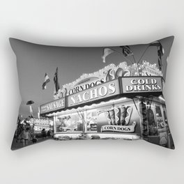 Fair Food B&W Rectangular Pillow