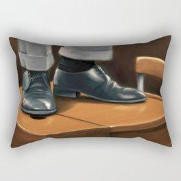 O Captain, my Captain Rectangular Pillow