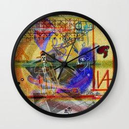ART HISTORY SERIES: PELAN ALTARPIECE (POLYPTYCH) Wall Clock