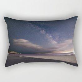 Milkyway at Good Harbor Beach Rectangular Pillow