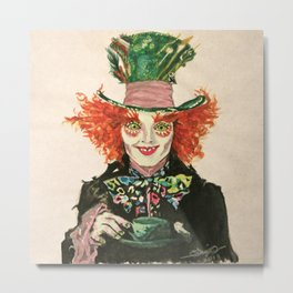 The Madhatter Metal Print