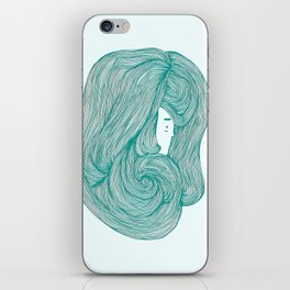 consumed - green variant iPhone Skin