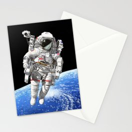 A heck of a big leap Stationery Cards