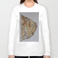 watercolour Long Sleeve T-shirts featuring watercolour by cabbagepatch