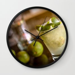 Cocktail drink Wall Clock