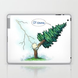 Trees Done With Life 3 Laptop & iPad Skin