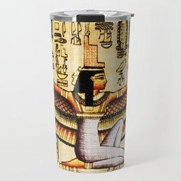 Egypt Isis Cleopatra Travel Mug
