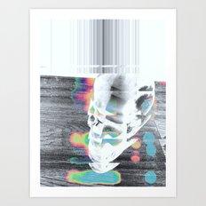 acid blur Art Print