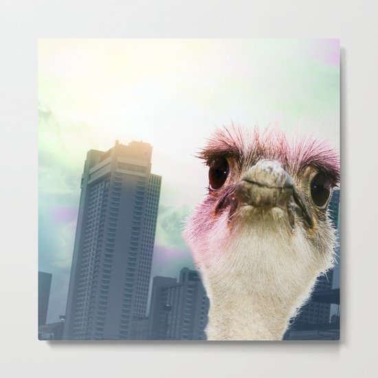 Ostracized in the City Metal Print