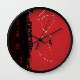 rumble Wall Clock