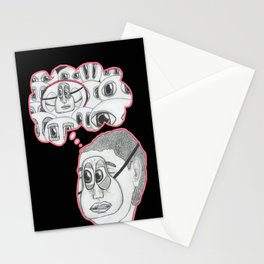 with your eyes closed Stationery Cards