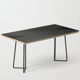 Minimal Line Curvature II Coffee Table