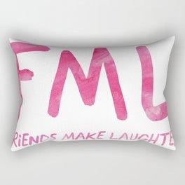 FML - Friends Make Laughter! Rectangular Pillow