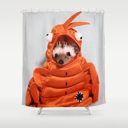 Incognito Hedgehog Shower Curtain