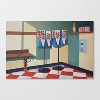 gumball Canvas Prints featuring Gumball Machines  by Lety Garcia