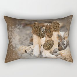 Mushroom Tile Rectangular Pillow