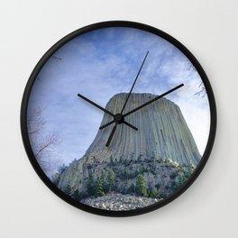 Devils Tower Wall Clock
