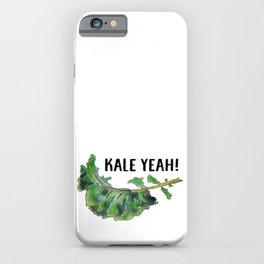 Kale Yeah! iPhone Case