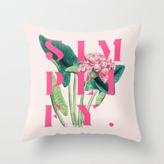 Simplify. #society6 #decor #buyart Throw Pillow