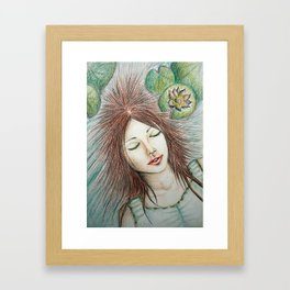 Ophelia (Perfect Water) Framed Art Print